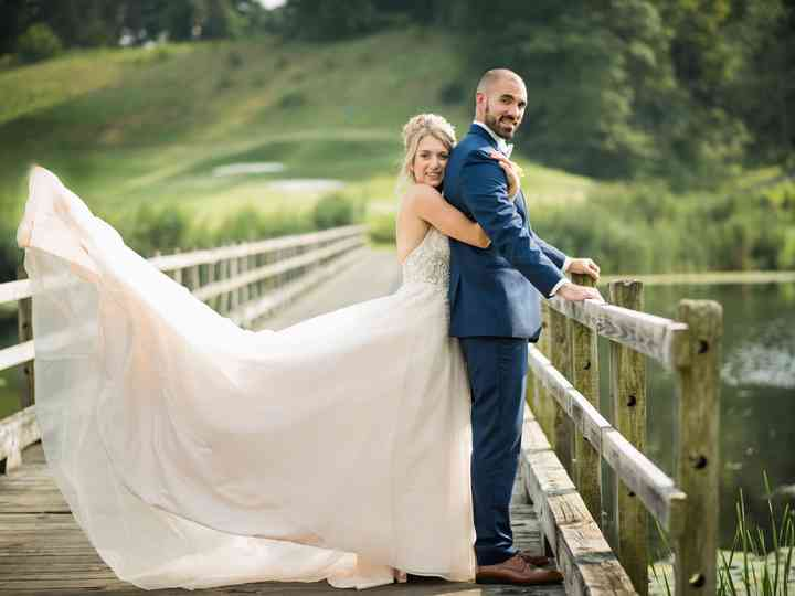 The wedding of Nicole and Chris