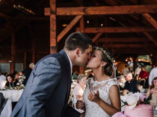 The wedding of Tara and Ben