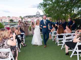 The wedding of Rachel and Danny