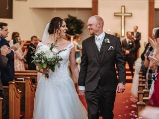 The wedding of Morgan and Ryan 1