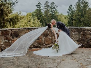 The wedding of Morgan and Ryan