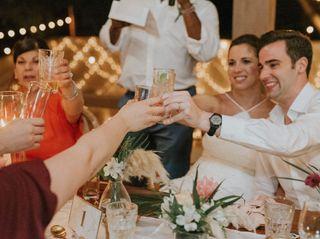 The wedding of Kait and Matt 1