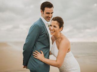 The wedding of Kait and Matt