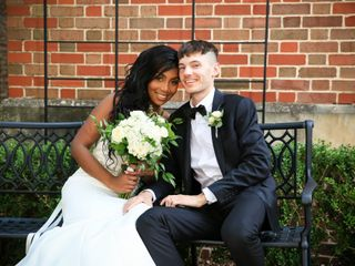 The wedding of Corie and Justin