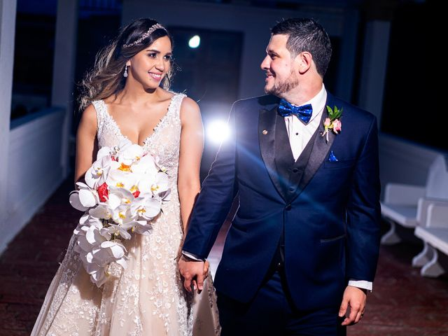 The wedding of Camile and Carlos