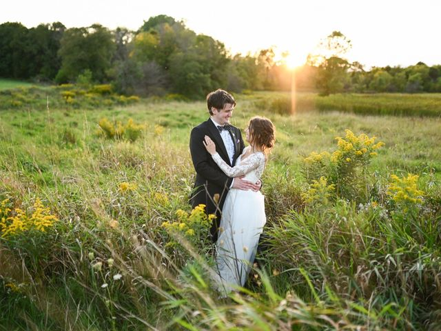 Lucas and Abby's Wedding in Lomira, Wisconsin 11