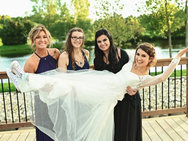 Lucas and Abby's Wedding in Lomira, Wisconsin 16