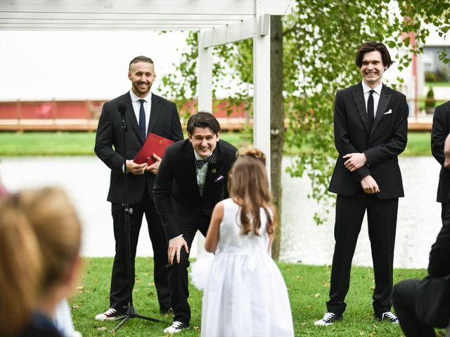 Lucas and Abby's Wedding in Lomira, Wisconsin 49