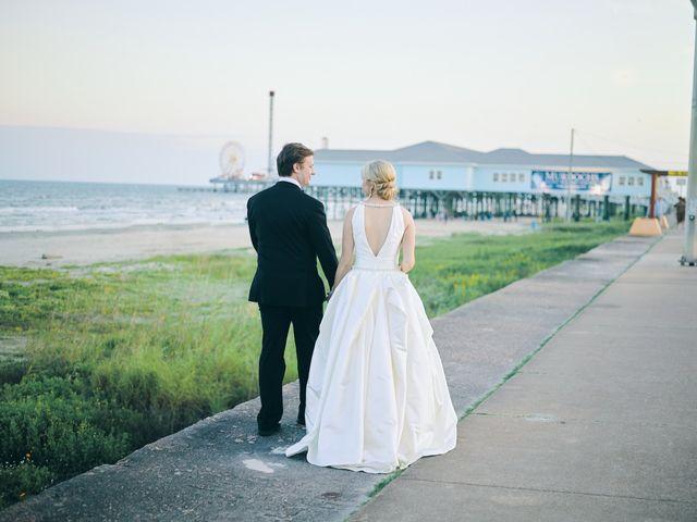 Lauren and Paul's Wedding in Galveston, Texas 7