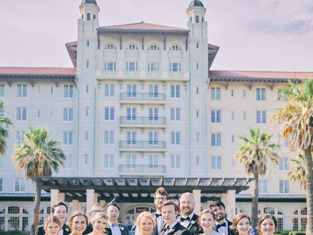 Lauren and Paul's Wedding in Galveston, Texas 52