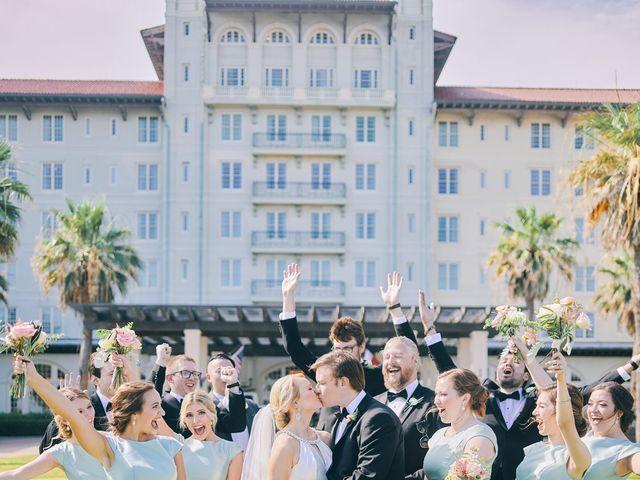 Lauren and Paul's Wedding in Galveston, Texas 53