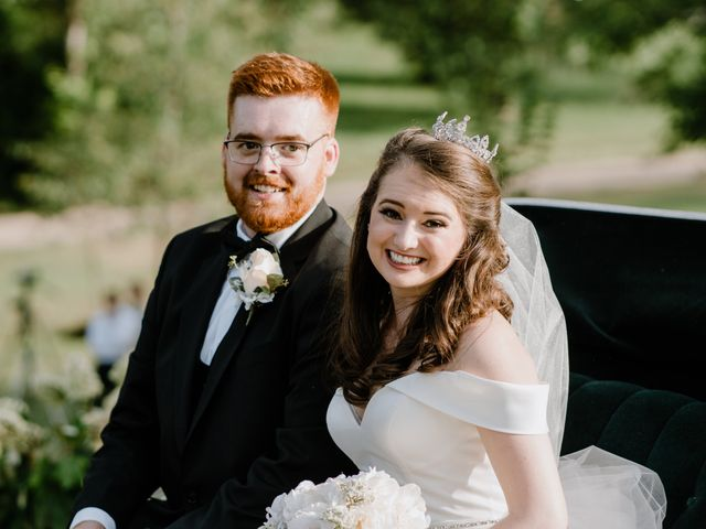 The wedding of Clare and Sam