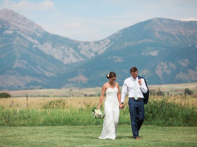 Whitney and Patrick's Wedding in Bozeman, Montana 22