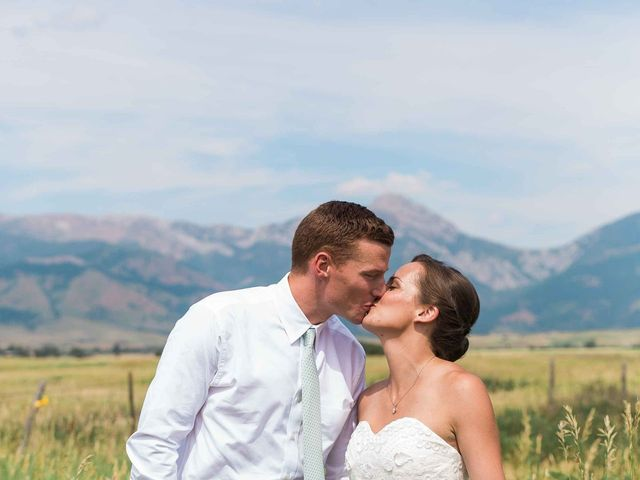 Whitney and Patrick's Wedding in Bozeman, Montana 8