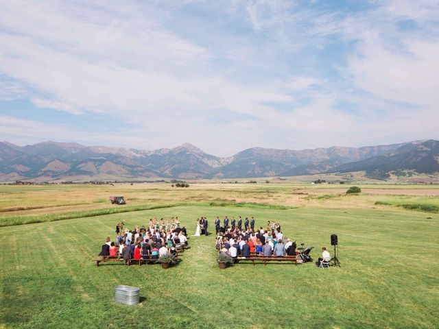 Whitney and Patrick's Wedding in Bozeman, Montana 14