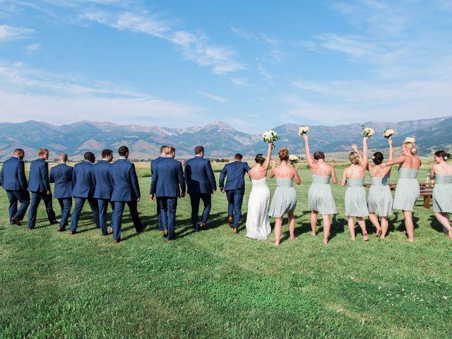 Whitney and Patrick's Wedding in Bozeman, Montana 11