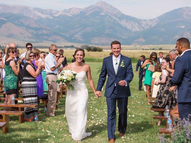 Whitney and Patrick's Wedding in Bozeman, Montana 17