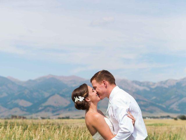 Whitney and Patrick's Wedding in Bozeman, Montana 9