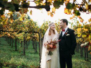 The wedding of Dmitry and Dasha