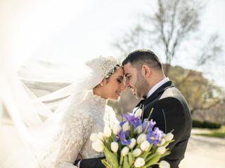 The wedding of Reem and Mustafa