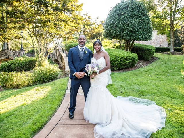 The wedding of Andrea and Trenell
