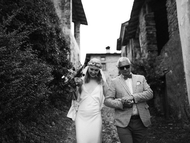 Dasha and Dmitry's Wedding in Milan, Italy 45