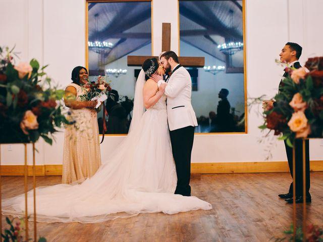 The wedding of Matt and Lauren