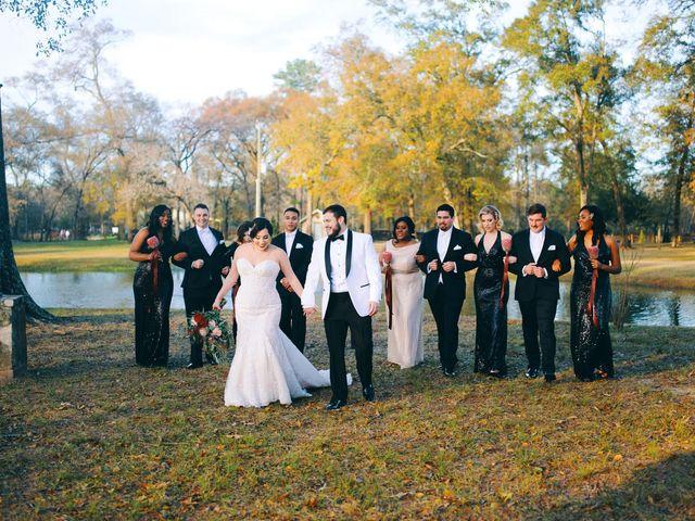 Lauren and Matt's Wedding in Magnolia, Texas 34