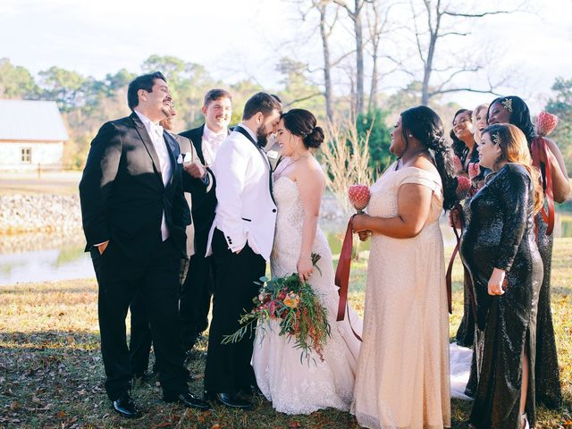 Lauren and Matt's Wedding in Magnolia, Texas 39