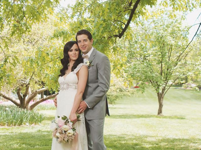 The wedding of Tim and Brie