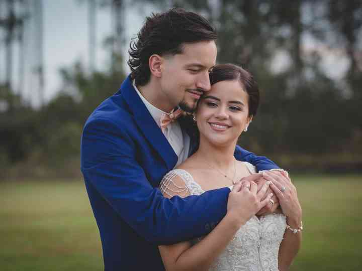 The wedding of Kimberly and Miguel