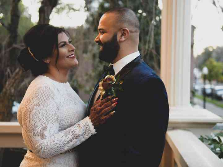 The wedding of Kristina and Israfil