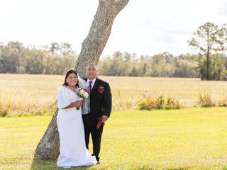 The wedding of Trini and Ruben