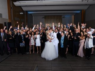 The wedding of Amy and Colin 1