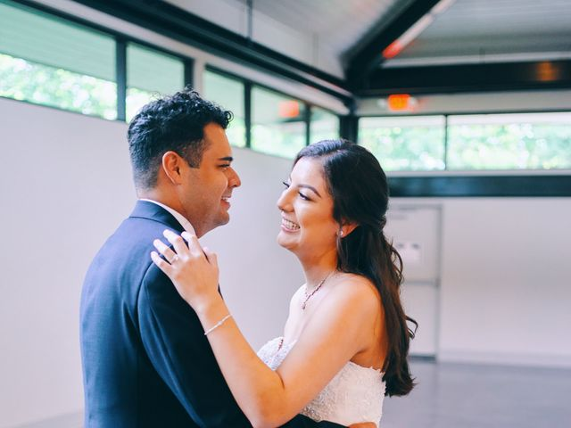Alexandria and Adrian's Wedding in Montgomery, Texas 11