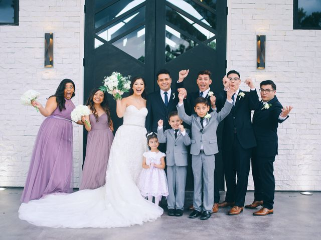 Alexandria and Adrian's Wedding in Montgomery, Texas 49