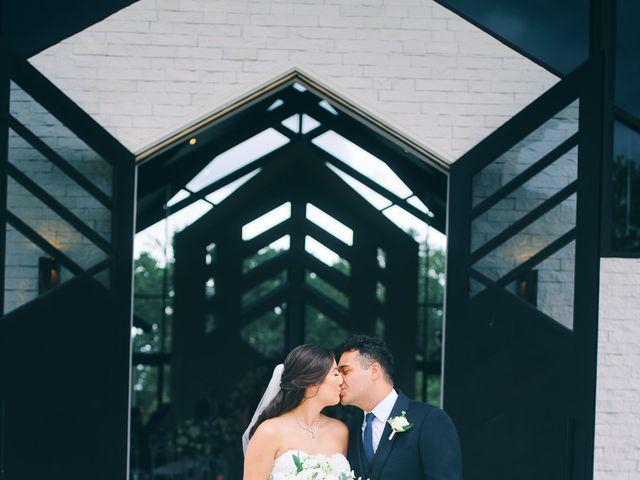 Alexandria and Adrian's Wedding in Montgomery, Texas 50
