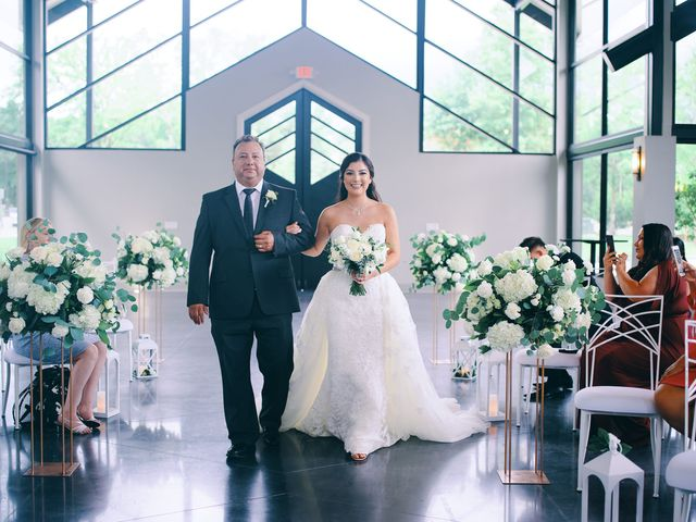 Alexandria and Adrian's Wedding in Montgomery, Texas 63