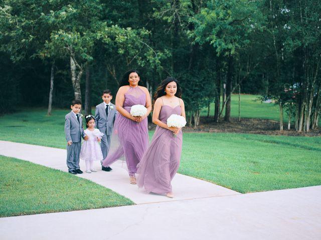 Alexandria and Adrian's Wedding in Montgomery, Texas 69