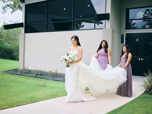 Alexandria and Adrian's Wedding in Montgomery, Texas 92