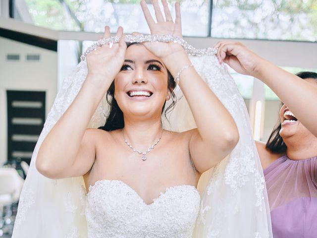 Alexandria and Adrian's Wedding in Montgomery, Texas 98