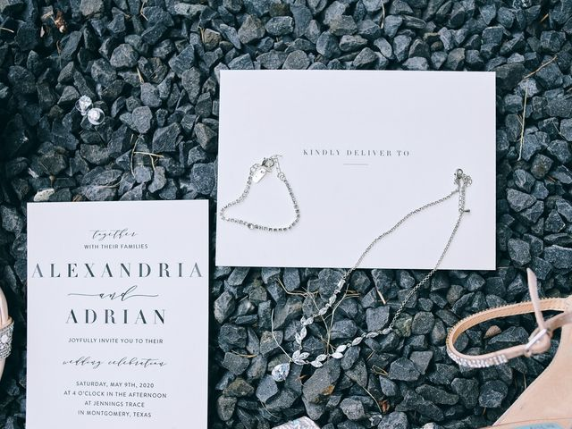 Alexandria and Adrian's Wedding in Montgomery, Texas 127
