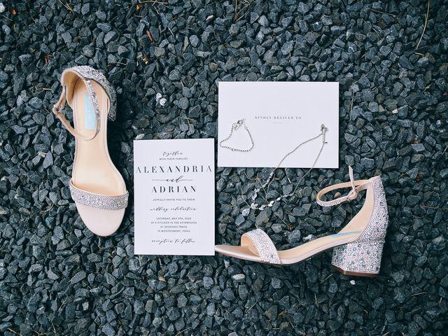 Alexandria and Adrian's Wedding in Montgomery, Texas 128