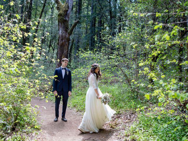 Alex and Henry's Wedding in Felton, California 5
