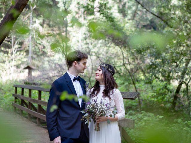 Alex and Henry's Wedding in Felton, California 8