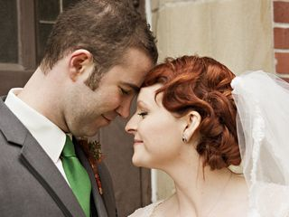 The wedding of Christopher and Meghan 1