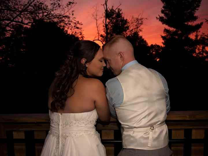 The wedding of Rachel and John