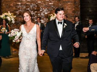 The wedding of Adrienne and Blake 1