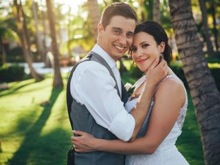 The wedding of Vincent and Carly