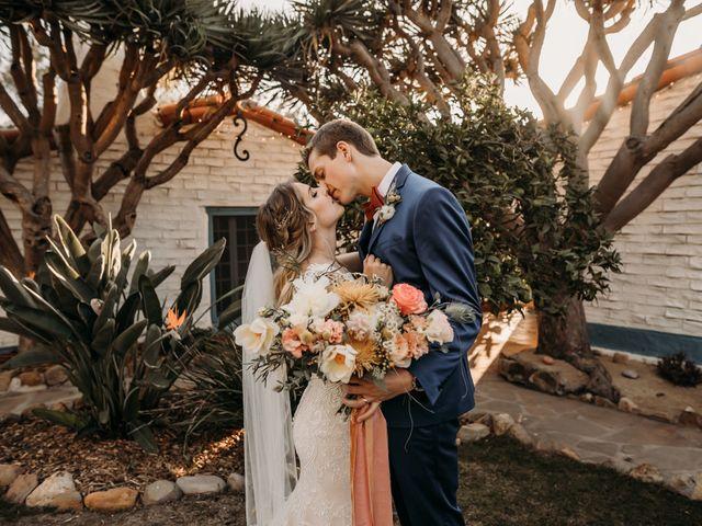 The wedding of Maddie and Matt
